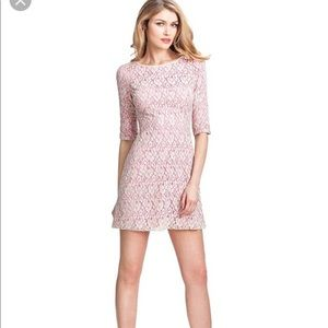 Guess by marciano pink lace dress size xs